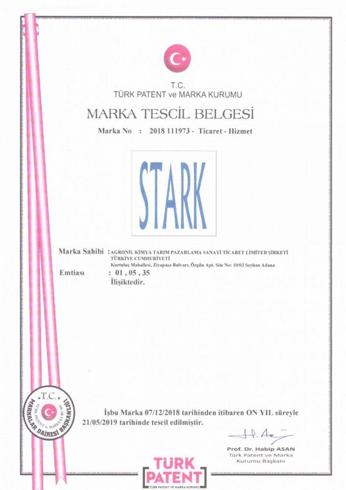Stark Marka Tescili